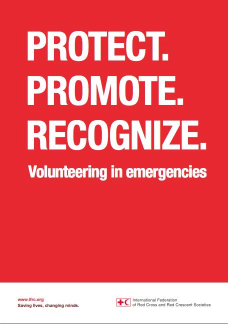 IFRC Volunteering in Emergencies